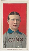 Chance, Chicago, National League, from the White Border series (T206) for the American Tobacco Company