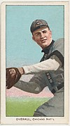 Overall, Chicago, National League, from the White Border series (T206) for the American Tobacco Company