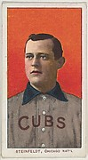 Steinfeldt, Chicago, National League, from the White Border series (T206) for the American Tobacco Company