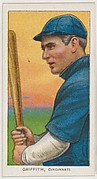 Griffith, Cincinnati, National League, from the White Border series (T206) for the American Tobacco Company