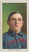 Lobert, Cincinnati, National League, from the White Border series (T206) for the American Tobacco Company