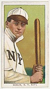 Donlin, New York, National League, from the White Border series (T206) for the American Tobacco Company