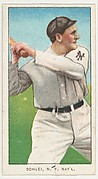 Schlei, New York, National League, from the White Border series (T206) for the American Tobacco Company