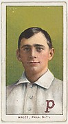 Magee, Philadelphia, National League, from the White Border series (T206) for the American Tobacco Company