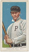 McQuillan, Philadelphia, National League, from the White Border series (T206) for the American Tobacco Company