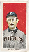 Abstein, Pittsburgh, National League, from the White Border series (T206) for the American Tobacco Company