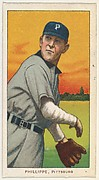 Phillippe, Pittsburgh, National League, from the White Border series (T206) for the American Tobacco Company