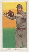 Gilbert, St. Louis, National League, from the White Border series (T206) for the American Tobacco Company