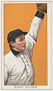 Slagle, Baltimore, Eastern League, from the White Border series (T206) for the American Tobacco Company