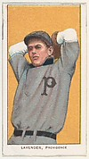 Lavender, Providence, Eastern League, from the White Border series (T206) for the American Tobacco Company