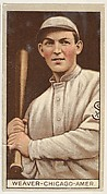 George Weaver, Chicago, American League, from the Brown Background series (T207) for the American Tobacco Company