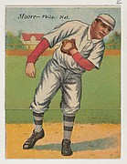 Moore, Philadelphia, National League, from the Mecca Double Folder series (T201)