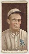 William Hogan, St. Louis, American League, from the Brown Background series (T207) for the American Tobacco Company