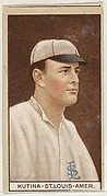 Joseph Kutina, St. Louis, American League, from the Brown Background series (T207) for the American Tobacco Company