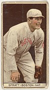 Harry Lee Spratt, Boston, National League, from the Brown Background series (T207) for the American Tobacco Company