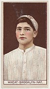 Zach Wheat, Brooklyn, National League, from the Brown Background series (T207) for the American Tobacco Company