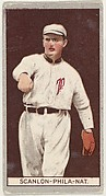 William Scanlon, Philadelphia, National League, from the Brown Background series (T207) for the American Tobacco Company