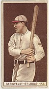 Harry Steinfeldt, St. Louis, National League, from the Brown Background series (T207) for the American Tobacco Company