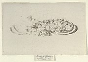 Phaeton, Study for Decoration of a Frame