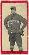 Mulldowney, Columbia, Atlantic League, from the Baseball Players (Red Borders) series (T210) issued by Old Mill Cigarettes