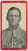 Bell, Houston, Texas League, from the Baseball Players (Red Borders) series (T210) issued by Old Mill Cigarettes