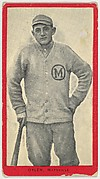 Oyler, Maysville, Blue Grass League, from the Baseball Players (Red Borders) series (T210) issued by Old Mill Cigarettes