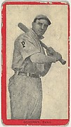 Goodman, Paris, Blue Grass League, from the Baseball Players (Red Borders) series (T210) issued by Old Mill Cigarettes