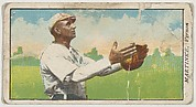 """Martinke, Vernon, from the """"Obak Baseball Players"""" set (T212), issued by the American Tobacco Company to promote Obak Mouthpiece Cigarettes"""