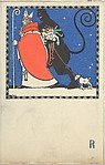 St. Nicholas and Krampus Card
