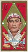 """Jacob G. Stahl, Boston Red Sox, American League, from the """"Baseball Series"""" (Gold Borders) set (T205) issued by the American Tobacco Company"""