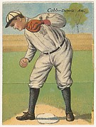 Cobb, Detroit, American League, from the Mecca Double Folder series (T201)
