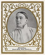 Bridwell, Shortstop, New York, National League, from the Baseball Players (Ramlys) series (T204) issued by the Mentor Company to promote Ramly and T.T.T. Turkish Cigarettes