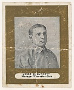 Jesse C. Burkett, Manager, Worcester Club, from the Baseball Players (Ramlys) series (T204) issued by the Mentor Company to promote Ramly and T.T.T. Turkish Cigarettes