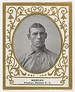 Morgan, Pitcher, Boston, American League, from the Baseball Players (Ramlys) series (T204) issued by the Mentor Company to promote Ramly and T.T.T. Turkish Cigarettes