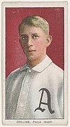 Collins, Philadelphia, American League, from the White Border series (T206) for the American Tobacco Company