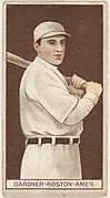 William Lawrence Gardner, Boston, American League, from the Brown Background series (T207) for the American Tobacco Company