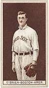 Buck O'Brien, Boston, American League, from the Brown Background series (T207) for the American Tobacco Company