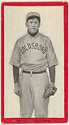Malcolm, Goldsboro, East Carolina League, from the Baseball Players (Red Borders) series (T210) issued by Old Mill Cigarettes