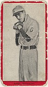 Webb, Goldsboro, East Carolina League, from the Baseball Players (Red Borders) series (T210) issued by Old Mill Cigarettes