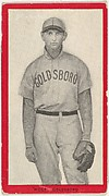 Wolf, Goldsboro, East Carolina League, from the Baseball Players (Red Borders) series (T210) issued by Old Mill Cigarettes