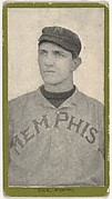 Dick, Memphis, from the Baseball Players (Green Borders) series (T211) issued by Red Sun Cigarettes