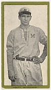 Pratt, Montgomery, from the Baseball Players (Green Borders) series (T211) issued by Red Sun Cigarettes