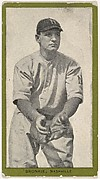 Bronkie, Nashville, from the Baseball Players (Green Borders) series (T211) issued by Red Sun Cigarettes