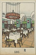 National Railway Station Restaurant, Vienna X, Josef Pohl (Restaurant Staatsbahnhof, Wien X, Josef Pohl)