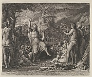 Orpheus Instructing a Savage People in Theology and the Arts of Social Life