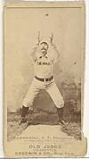 "John Stewart ""Pop"" Corkhill, Center Field, Cincinnati, from the Old Judge series (N172) for Old Judge Cigarettes"