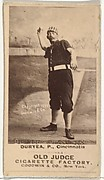 "James Newton ""Jesse"" Duryea, Pitcher, Cincinnati, from the Old Judge series (N172) for Old Judge Cigarettes"