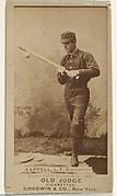 "Henry ""Heinie"" Kappel, Left Field, Cincinnati, from the Old Judge series (N172) for Old Judge Cigarettes"