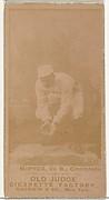 "John Alexander ""Bid"" McPhee, 2nd Base, Cincinnati, from the Old Judge series (N172) for Old Judge Cigarettes"