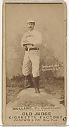 "Anthony John ""Tony"" Mullane, Pitcher, Cincinnati, from the Old Judge series (N172) for Old Judge Cigarettes"